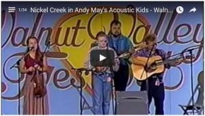 1995 Nickel Creek in Acoustic Kids-Walnut Valley Festival
