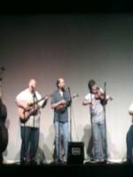 ANdy May & the Bluegrass Band at Mount Pleasant, TN, Middle School for the Visual and Performing Arts