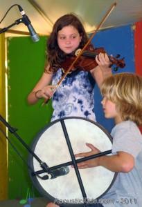 Acoustic Kids Workshop - MerleFest, 2011 (30)