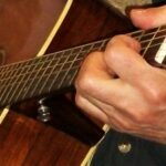 Andy May - guitar - close-up