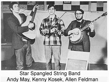 Star Spangled String Band - From the 1968 Union Grove Fiddler's Convention program