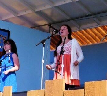 2015 Walnut Valley Fest Acoustic Kids-Saaturday