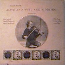 Allan Block - Alive and Well and Fiddling - LP cover