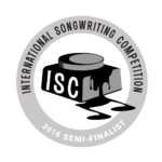 International Songwrithig Competition Semi Finalist - 2016