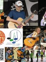 Copper Guitar Town Acoustic Kids mosaic