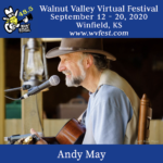 Andy May Walnut Valley Virtual Festival 48.5 poster