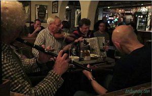 Session at O'Connor's Pub.