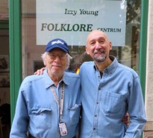 Izzy Young and Andy May-Folklore Centrum-Stockholm-2016