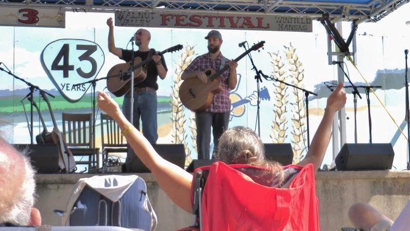 2014 Walnut Valley Festival, Winfield, KS